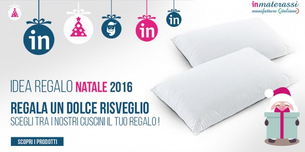 Idea regalo Natale - i cuscini memory